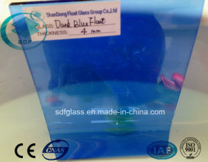 Dark Blue Float Glass with Ce ISO 4mm to 10mm