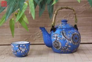 Tableware Ceramic /Dinnerware Porcelain Teapot Dinner Set (TP-58m)