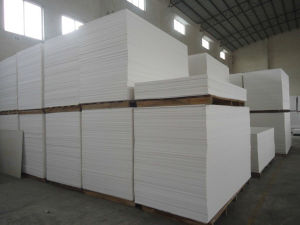 good quality white pvc rigid sheets for cabinet pictures & photos