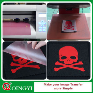 Qingyi Great Feel Flock Heat Transfer Film for Apparel pictures & photos