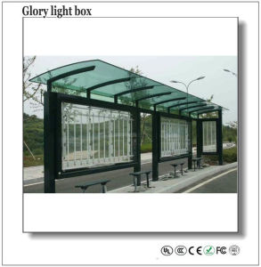 High Quality LED Static Light Box Shelter pictures & photos