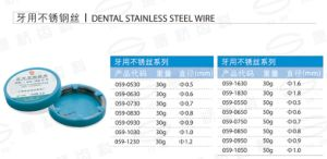Dental Stainless Steel Wire pictures & photos