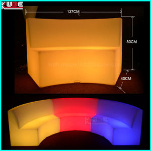 Outdoor PE LED Illuminated Furnitures Set pictures & photos