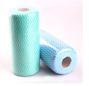 Mesh Spunlace Non Woven Cleaning Cloths