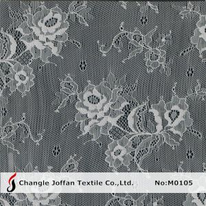 Swiss Voile Chantilly Lace Fabric (M0105) pictures & photos