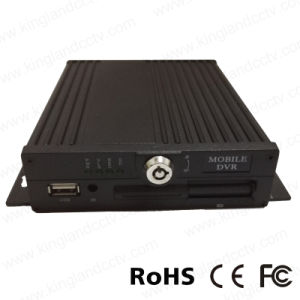 H. 264 Realtime 4 Channel SD Card Mobile DVR