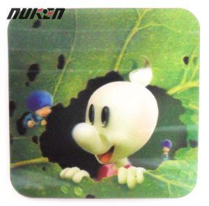 Custom Made Lenticular 3D Cup Mat pictures & photos