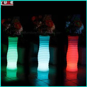 LED Planters and LED Furniture Square Flower Plastic Pots pictures & photos