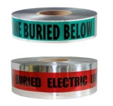Detectable Buried Barricade Tape Detectable Warning Tape pictures & photos