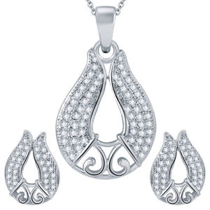 Fashion Jewelry 925 Silver Jewelry Set with Micro Setting CZ pictures & photos