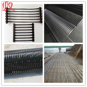 Plastic Uniaxial Geogrid for Geosynthetic Stabilization pictures & photos