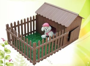 Weather Resistant and Comfortable WPC House for Pet pictures & photos