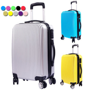 20′′/24′′/28′′ PC+ABS Colorful Luggage Set Travel Bags Cheap Trolley Suitcase Set for 2016