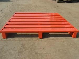 Warehouse Color Powder Paint Steel Pallet pictures & photos