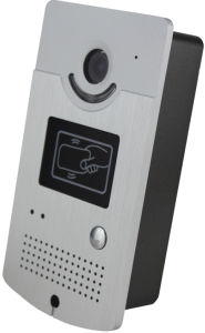 ID Card Access Video Door Entry System pictures & photos