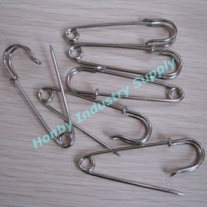 63mm Heavy Duty Steel Safety Brooch Pin pictures & photos