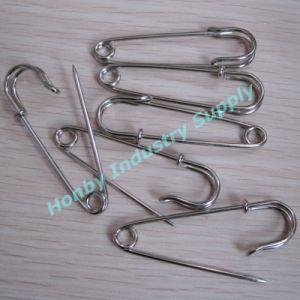 63mm Heavy Duty Steel Safety Brooch Pin