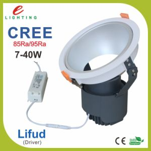 Rotation Dimmable Recessed COB LED Downlight