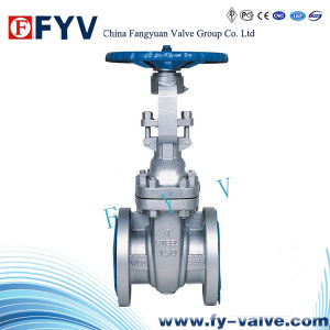 API Cast Steel Wedge Gate Valve Stainless Steel pictures & photos