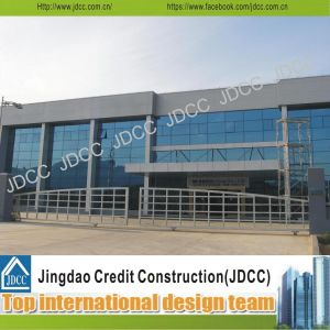 High-Quality Steel Structure Prefabricated Showroom for Cars 4s Store pictures & photos