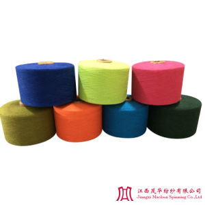 Color Cotton Polyester Combed Yarn (32-40s)