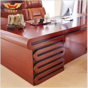 Wooden Venner Glossy Boardroom for Venner CEO Desk pictures & photos