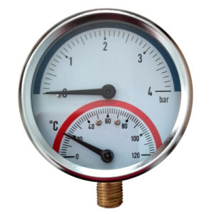 Temperature Pressure Gauge pictures & photos