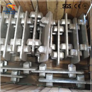 Forged Double Intermediate Container Stacker pictures & photos