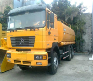 China Best Man Cabin Fuel Tank Truck 6X4 20 Cbm pictures & photos