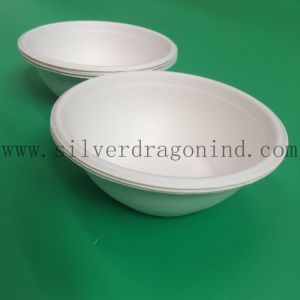 Biodegradable Sugarcane Pulp Disposable Paper Bowl pictures & photos