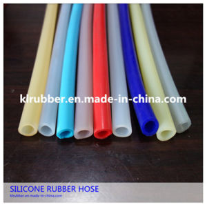FDA Food Grade Clear Silicone Tube/Fuel Resistant Silicone Rubber Tube pictures & photos