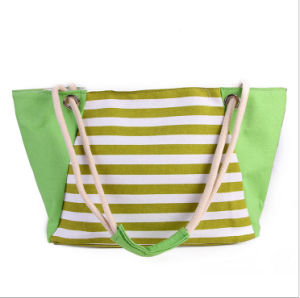 The New Female Bag Summer New Canvas Beach Bag Shopping Bag pictures & photos