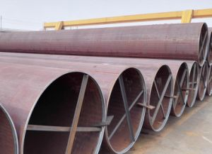Construction LSAW Steel Pipe En10219 S355jrh, Building Steel Pipe pictures & photos