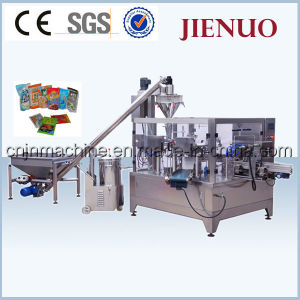 Automatic Pouch Powder Rotary Packing Machine (GD8-200A) pictures & photos