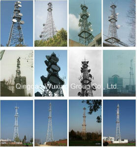 Telephone Microwave Signal Telecommunication Steel Tower pictures & photos