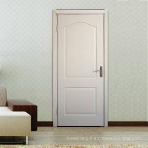 Eye-Brow Panel White Primed Moulded Wooden Door Room Door pictures & photos