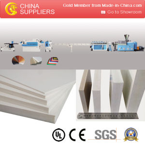PVC Free Foam Board Extrusion Line pictures & photos