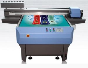 UV Glass Printing Machine with 2 PCS Epson Dx5 Heads pictures & photos