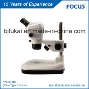 Binocular 0.68X-4.6X Optical Microscope Manufactory pictures & photos