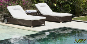 Rattan Chaise Lounger / Double Chaise Lounge (M1B226-B2)