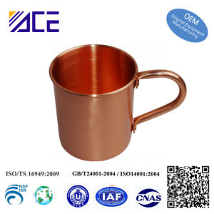 Custom Beer Drinking Moscow Mules Mug Pure Copper Cup pictures & photos