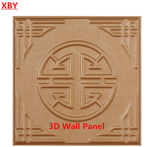 3D Decoration Wall Panel PU Leather Decorative Board pictures & photos