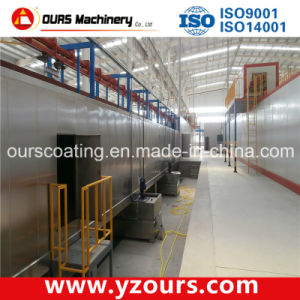 The Exported Powder Coating Machine & Powder Coating Line pictures & photos