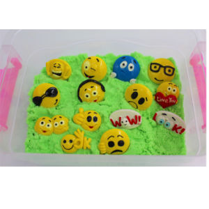 Emotion Recognizing Magic Sand Kids Toy with Small Emoji Parts (MQ-DES01) pictures & photos