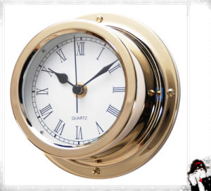 12 Hours Quartz Wall Clock Roman Dial 150mm pictures & photos