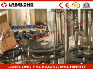 Aluminum Cap 3in1 Wishky Wine Bottling /Filling Machine pictures & photos