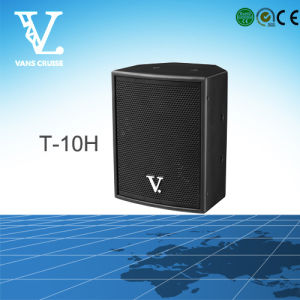 T-10h 10′′ Mini Speaker Coaxial Suitable for Home and Karaoke pictures & photos