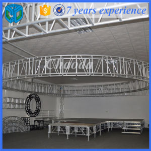 Round Roof Stage Lighting Decoration Truss System