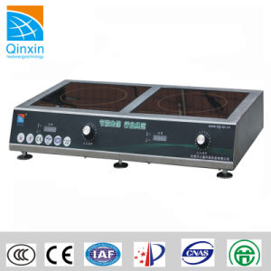 220V Double Burners Commercial Induction Furnace pictures & photos
