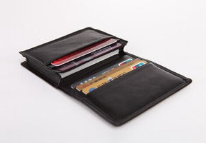 Leather ID Business Card Holder, Business Card Holder (C59) pictures & photos